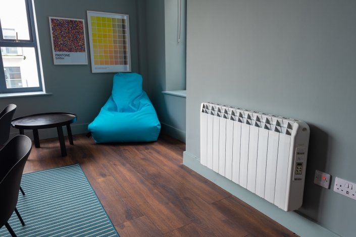 Hatch Student Accommodation Cork City electric heaters image 11