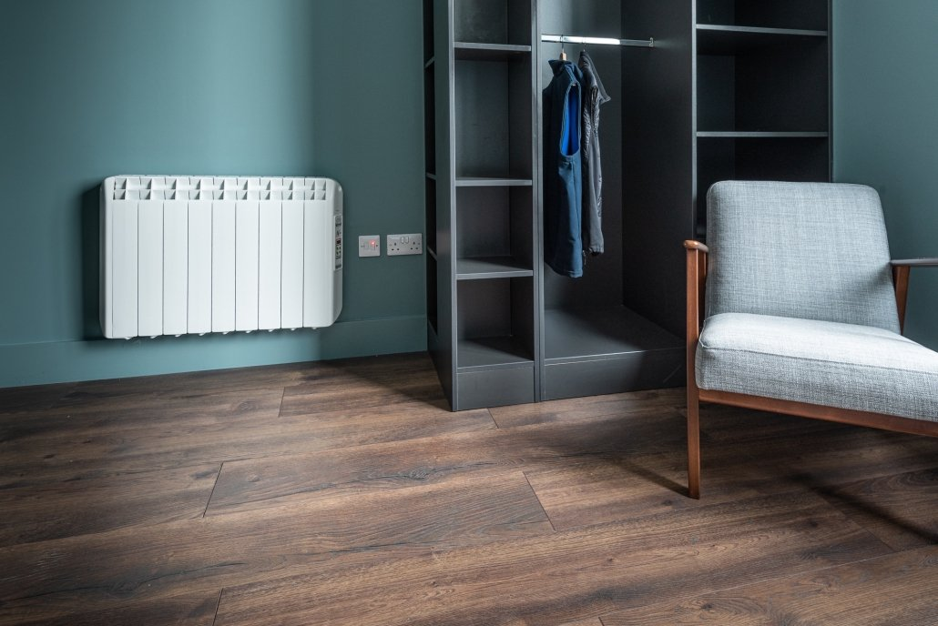Hatch Student Accommodation Cork City electric heaters image 14