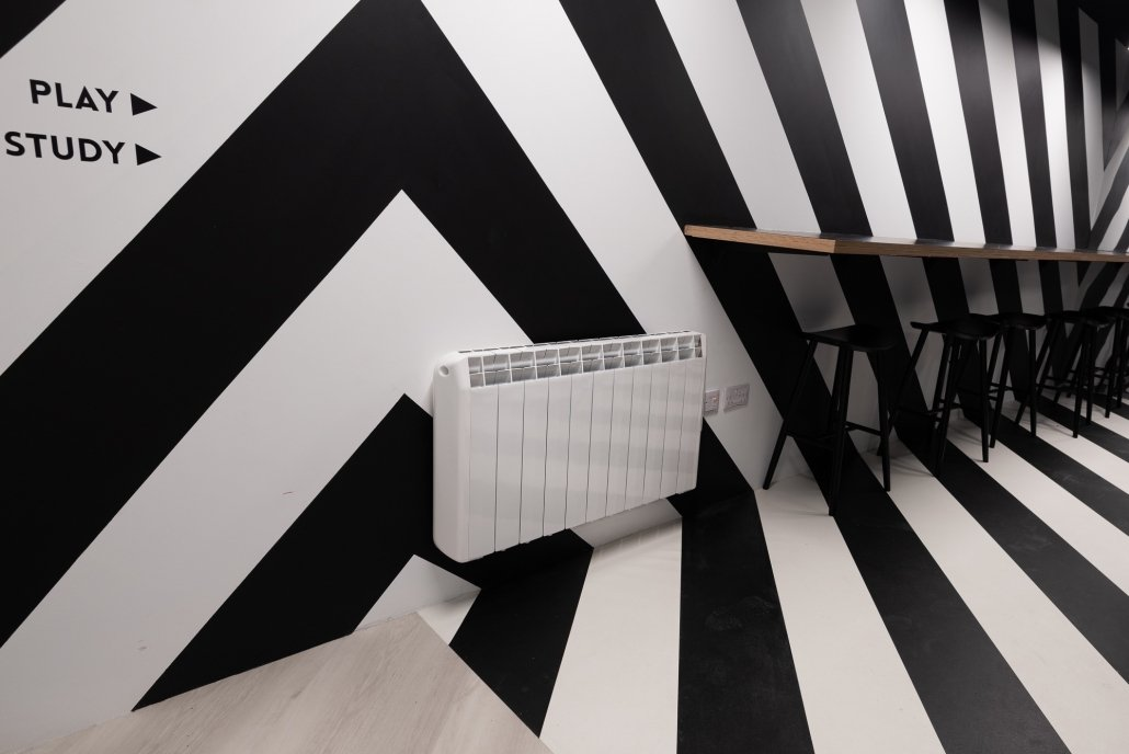 Hatch Student Accommodation Cork City electric heaters image 21