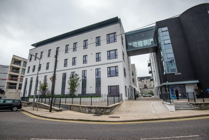 Hatch Student Accommodation Cork City electric heaters image 30