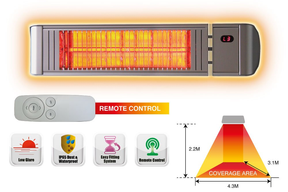 infrared electric patio heaters