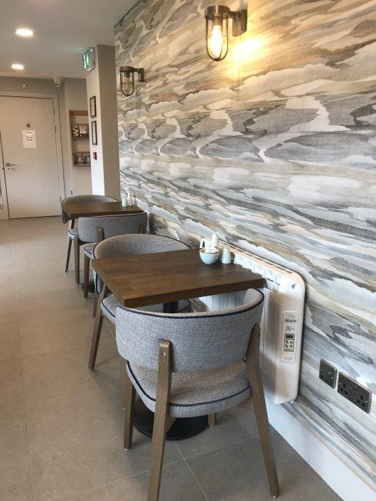 Baginbun Lodge electric heaters installation 12