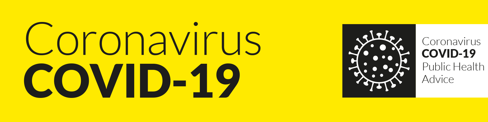 Coronavirus Covid-19 header