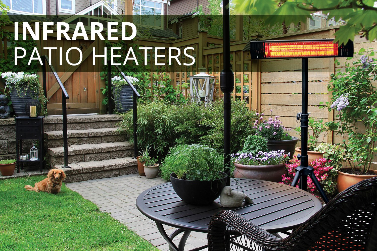 Infrared patio heaters slide image